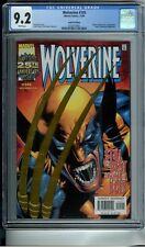 WOLVERINE 145 CGC 9.2 WHITE PAGES GOLD FOIL EDITION HULK & SABRETOOTH NEW CASE