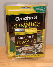 OMAHA 8 FOR DUMMIES  ( NEW ) Card Game B