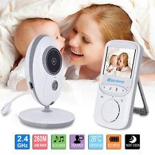2.4 Zoll LCD Drahtlos Babyphone Mit Kamera Video Monitor Nachtlicht Babysitter