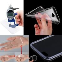 0.3mm FUNDA CARCASA TRANSPARENTE ULTRAFINA TPU GEL SILICONA PARA MOBILE PHONES