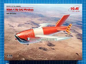 1/48 KDA-1 (Q-2A) Firebee US Drone, 2 pcs (ICM 48402) New June 2021