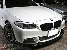 3D Style Carbon Fiber Front Bumper Lip for 11-16 F10 M-Sport 528i 535i 550i only