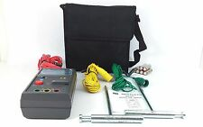 tes 3090 Digital Clamp Meter 400A 600V Max CAT II + Instruction Manuel + Case