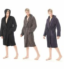 Men's Terry Toweling Bath Robes Luxury 100% Egyptian Cotton 650GSM Dressing Gown