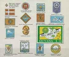 Timbre Scoutisme Guyana BF19A ** lot 20979