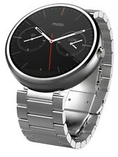 Motorola Moto 360 23mm Touch Android Wear Bluetooth SmartWatch Light Metal Watch
