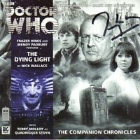Doctor Who: The Dying Light CD signed by Terry Molloy