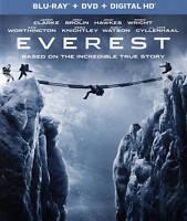 Everest (Blu-ray/DVD, 2016, 2-Disc Set, Includes Digital Copy)
