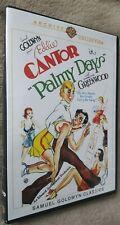 PALMY DAYS (1931) Eddie Cantor, George Raft, region free DVD Warner Archive