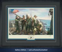 Iwo Jima Flag Raising Mt. Suribachi Marines 3rd Platoon 5th Division WWII