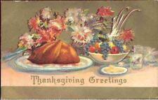 (hun) Postcard: Thanksgiving Greetings