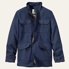 TIMBERLAND MEN'S MT.HAYES NAVY WOOL BLEND COAT #8146J-019 $228. SZ: M