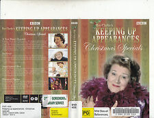 Keeping Up Appearances-Christmas Specials-1990/5-TV Series UK-[4 Episodes]-DVD