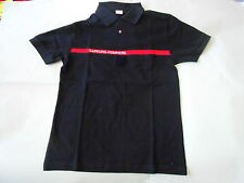 1 POLO SAPEURS POMPIERS TAILLE M (idem taille 96 ) NEUF