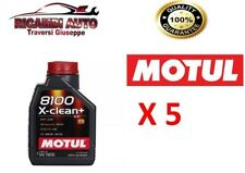 5 LITRI OLIO MOTUL 8100 X-CLEAN+ 5W30 100% SINTETICO BMW-MB-PORSCHE-VW