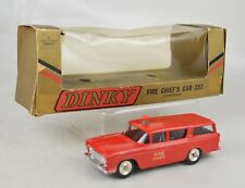 "Dinky #257 Nash Rambler Canadian Fire Chief's Car 4"" Long 1960-69 Nr Mint W/Box"