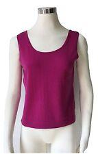 Stricktop aus reiner Merino Wolle Gr.44 Rundhals Fb.pink Räumungsverkauf