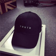 Women Men Unisex Adjustable Sport Cotton Baseball Cap Golf Hat Hip Hop Flat Hat