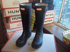 HUNTER WELLIES WELLINGTONS  IN HALIFAX BLACK ORIGINAL  TALL SIZE  6 mens