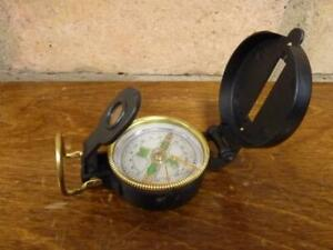 A nice vintage Engineers Directional Compass Camping Hiking