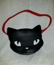 emily the strange black cat head purse