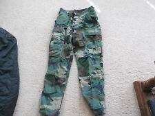 US  ARMY WOODLAND BDU PANTS SIZE SMALL-REGULAR