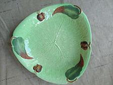 "Carlton Ware Australian Design 789942 Handpainted 7"" Vintage Leaf Dish Plate"