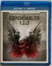 THE EXPENDABLES TRILOGY 3 FILM COLLECTION BLU RAY 3 DISC SET FREE WORLD SHIPPING