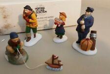 Dept 56 New England Village 1998 Sea Captain & His Mates 4 Piece 56587