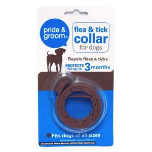 Pride & Groom Flea and Tick Spot On Treatment & Collars for Kitten Cat or Dog UK