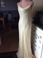"""Monsoon Francoise  Bnwt Brides Velvet Long Length  59"""" Dress Size 14"""