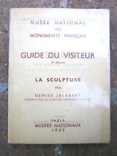 Monuments français:Guide du visiteur 1953/55:Sculpture/Peinture murale gothique