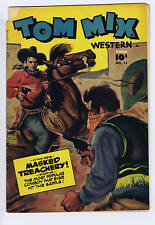 Tom Mix Western #15 Anglo-American Pub. 1949 Canadian Edition