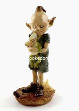 Miniature Garden Pixie Hugging Frog  TO 4320 Dollhouse Fairy Gnome Hobbit Garden