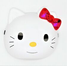 Hello Kitty Costume Face Mask with Ribbon that Lights Up (Batteries Included)!