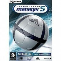 Championship manager 5 - ENGLISH PC giochi per PC   GAME WINDOWS BY EIDOS
