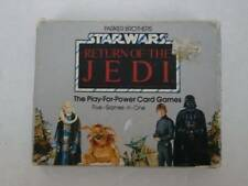 Star Wars Return of the Jedi 1983 Card Game Play for Power 5 in 1 Made in USA