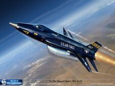 ART PRINT:  X-15 Space plane - Print by Shepherd