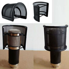 Double Layer Studio Record Microphone Mic Windscreen Pop Filter Mask Shield S5