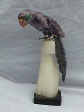 Gravur, Papagei Amethyst (002)