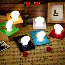 Novelty Gadget Gift Foldable Pocket Wallet Credit Card Size LED Lights Lamps ECA