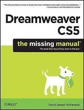 Dreamweaver CS5: The Missing Manual by David Sawyer Mcfarland (Paperback, 2010)
