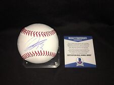 Sho Nakata Signed Official Major League Baseball Nippon Ham Fighters Beckett