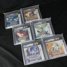 VGA Graded Pokemon Nintendo 3DS Set Sun, Moon, X, Y, Omega Ruby, Alpha Sapphire!