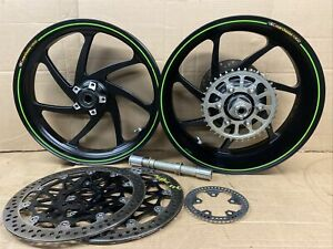 2018 Kawasaki ZX10R 2C Marchesini Forged Front and rear rims wheels OEM