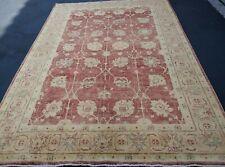 "6'2""x8'11"" Pakistani Peshawar Chobi Rug carpet,Handmade,Veg Dye,100% Wool 6x9"