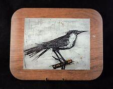 Dessous de plat Bernard BUFFET L'oiseau IFAMETAL Made in ENGLAND