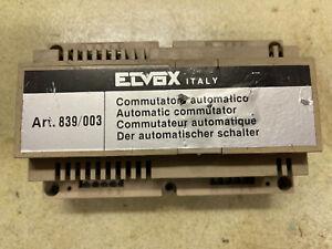 ELVOX 839 / 003  COMMUTATORE AUTOMATICO