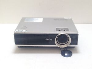 BenQ MP770 DLP LCD PROJECTOR USED 2660h LAMP HOURS IMAGE DULL SHADE - REF S35