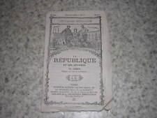 1875.la République et les affaires / Laserve.député de l'ile de la Réunion